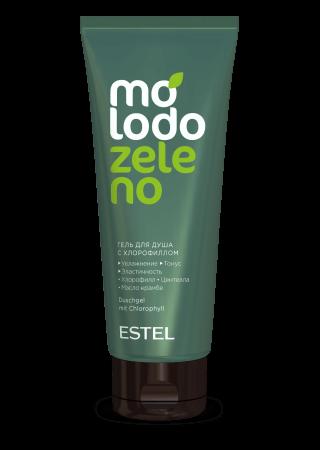 Гель для душа с хлорофиллом ESTEL Molodo Zeleno  200мл