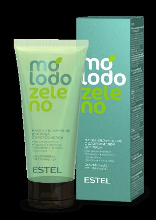 Маска-увлажнитель с хлорофиллом для лица ESTEL Molodo Zeleno  100мл