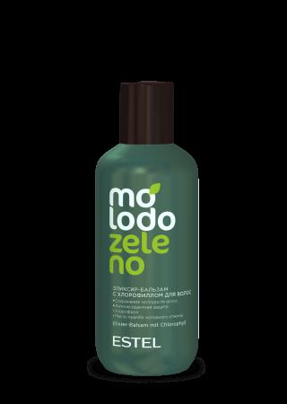 Эликсир-бальзам с хлорофиллом для волос ESTEL Molodo Zeleno  200мл